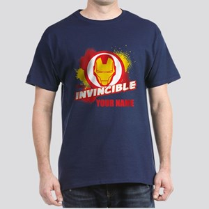 Avengers Assemble Iron Man Personaliz Dark T-Shirt