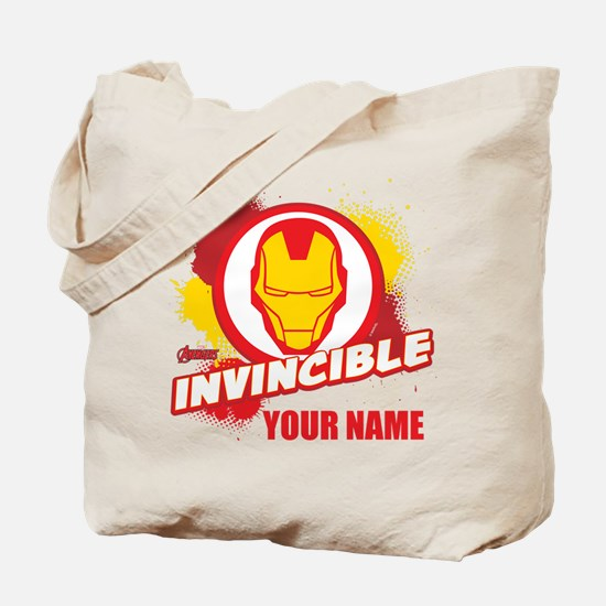 Avengers Assemble Iron Man Personalized Tote Bag