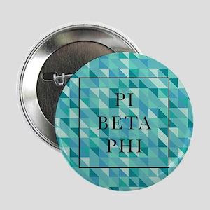 "Pi Beta Phi Geometric 2.25"" Button (10 pack)"