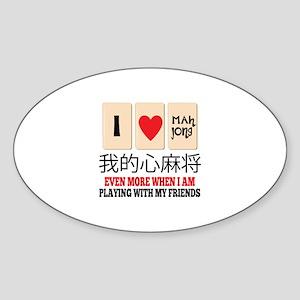 Mah Jong & Friends Sticker