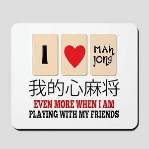 Mah Jong & Friends Mousepad