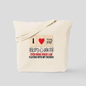Mah Jong & Friends Tote Bag
