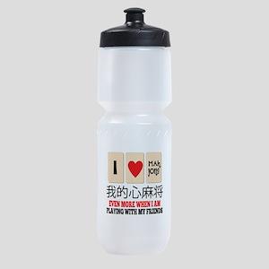 Mah Jong & Friends Sports Bottle