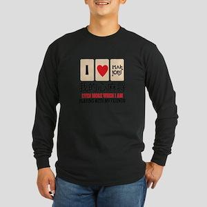 Mah Jong & Friends Long Sleeve T-Shirt