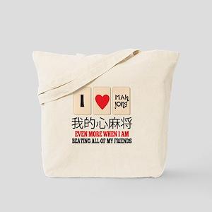 Mah Jong & Beating Tote Bag