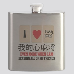 Mah Jong & Beating Flask