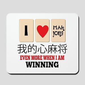 Mah Jong & WInning Mousepad