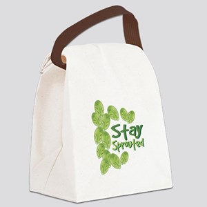 Stay Sprouted Canvas Lunch Bag