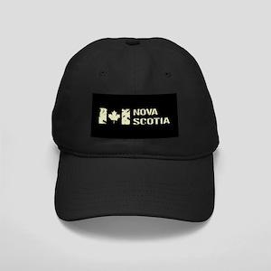 Canadian Flag: Nova Scotia Black Cap with Patch
