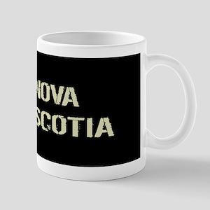 Canadian Flag: Nova Scotia Mug