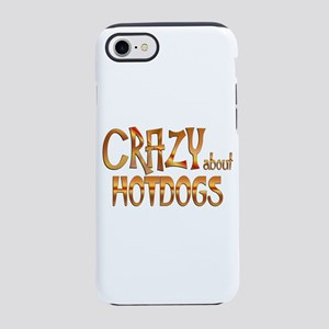 Crazy About Hot Dogs iPhone 7 Tough Case
