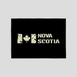 Canadian Flag: Nova Scotia 5'x7'Area Rug