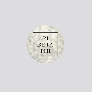 Pi Beta Phi Marble Mini Button
