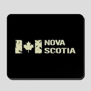 Canadian Flag: Nova Scotia Mousepad