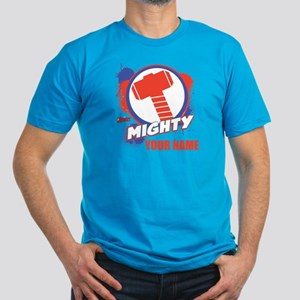 Avengers Assemble Migh Men's Fitted T-Shirt (dark)