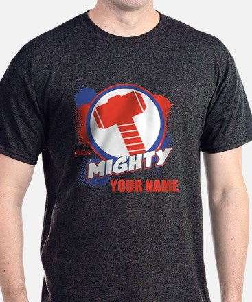 Avengers Assemble Mighty Thor Persona T-Shirt