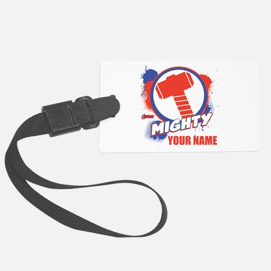 Avengers Assemble Mighty Thor Pe Luggage Tag