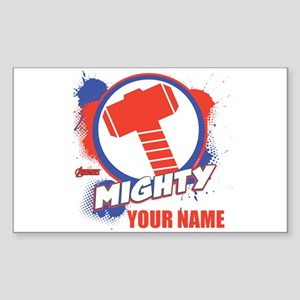 Avengers Assemble Mighty Thor Sticker (Rectangle)