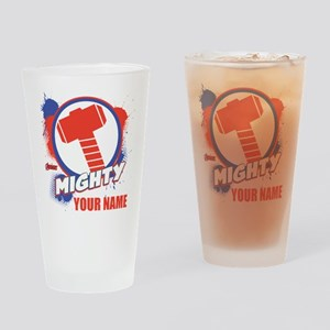 Avengers Assemble Mighty Thor Perso Drinking Glass