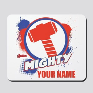 Avengers Assemble Mighty Thor Personaliz Mousepad
