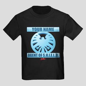Avengers Assemble Agent of SHIEL Kids Dark T-Shirt