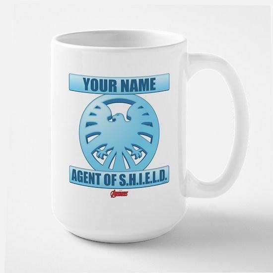 Avengers Assemble Agent of SHIELD Perso Large Mug