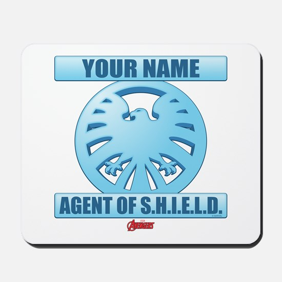 Avengers Assemble Agent of SHIELD Person Mousepad