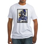 USS BENNER Fitted T-Shirt