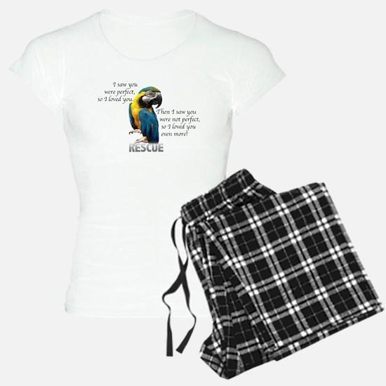 Cute Macaw Pajamas