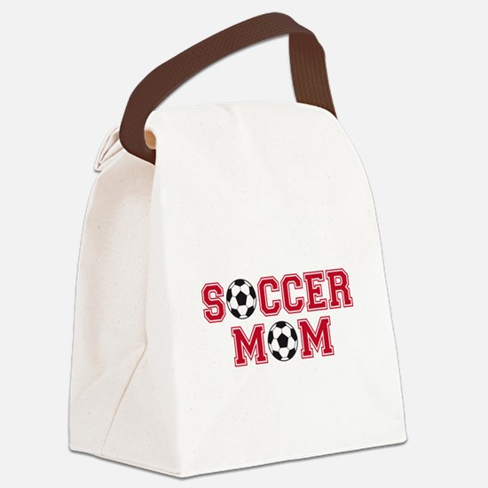 Soccer mom Canvas Lunch Bag