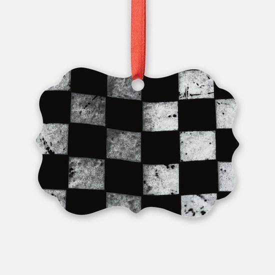 Checkered Flag Ornament