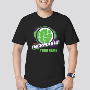 Avengers Assemble Incr Men's Fitted T-Shirt (dark)