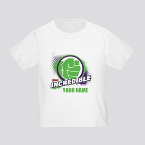 Avengers Assemble Incredible Hulk Toddler T-Shirt