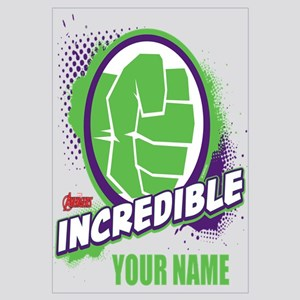 Avengers Assemble Incredible Hulk Persona Wall Art
