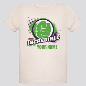 Avengers Assemble Incredible Organic Kids T-Shirt