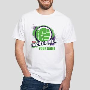 Avengers Assemble Incredible Hulk Pe White T-Shirt