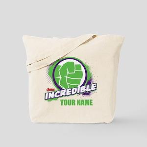 Avengers Assemble Incredible Hulk Persona Tote Bag
