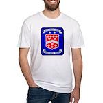 USS BERKELEY Fitted T-Shirt