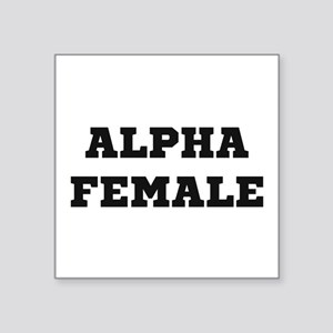 Alpha Female Sticker