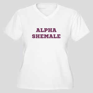 Alpha Shemale Plus Size T-Shirt
