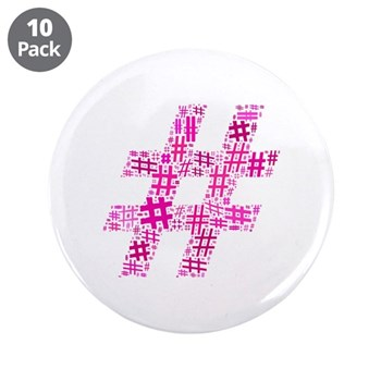 Pink Hashtag Cloud 3.5