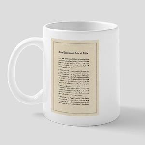 Code of Ethics Mug