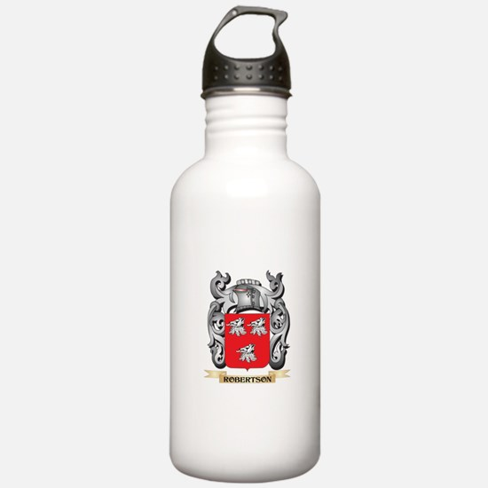 Robertson Coat of Arms Sports Water Bottle