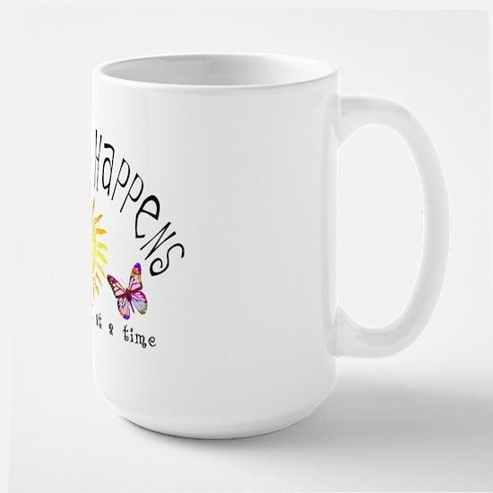 Recovery Happens Large Mug