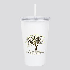 The Art Of Teaching Acrylic Double-wall Tumbler