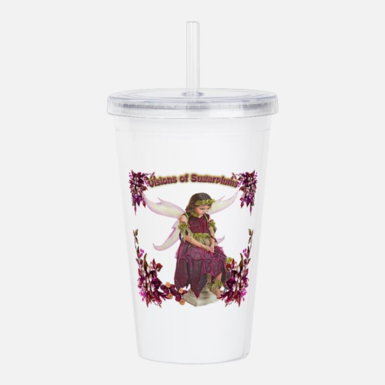 Visions of Sugarplums Acrylic Double-wall Tumbler