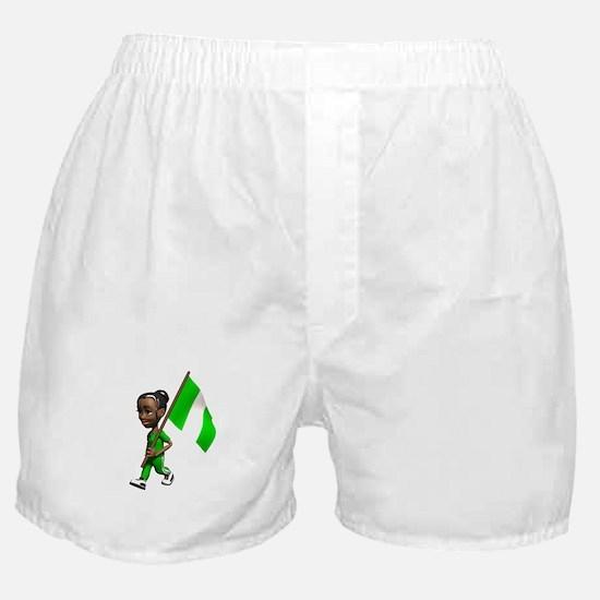 Nigeria Girl Boxer Shorts