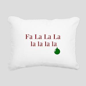 Fa La La La la la la la Christmas Rectangular Canv