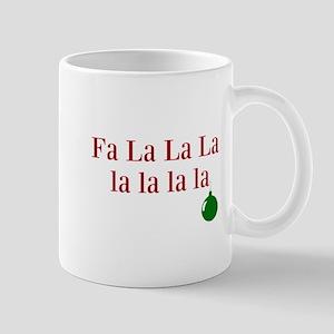 Fa La La La la la la la Christmas Mugs