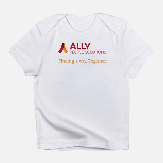 Ally People Solutions With Tagline Infant T-Shirt